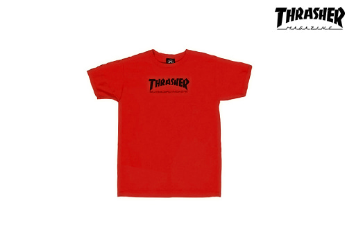 Thrasher SKATE MAG T-Shirts (red)