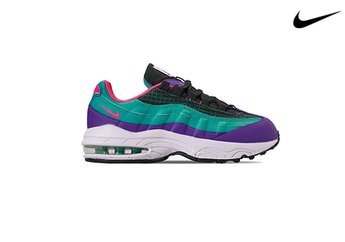 NIKE KIDS AIR MAX 95 NOW (outdoor green)