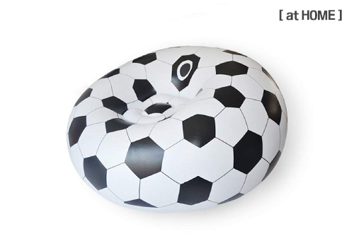 [at HOME] SOCCER BALL Inflatable Sofa