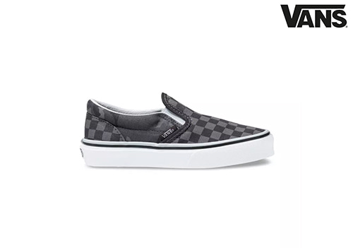 VANS KIDS TONAL CHECKERBOARD SLIP-ON
