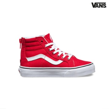 Vans Kids Varsity SK8-Hi Zip(red)/ kids